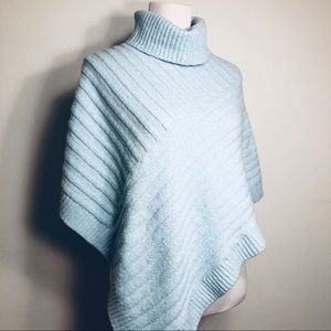 CHICO'S Turtleneck Poncho/Sweater